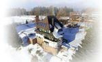 Luftaufnahme mit 4K-Kamera und Quadrokopter